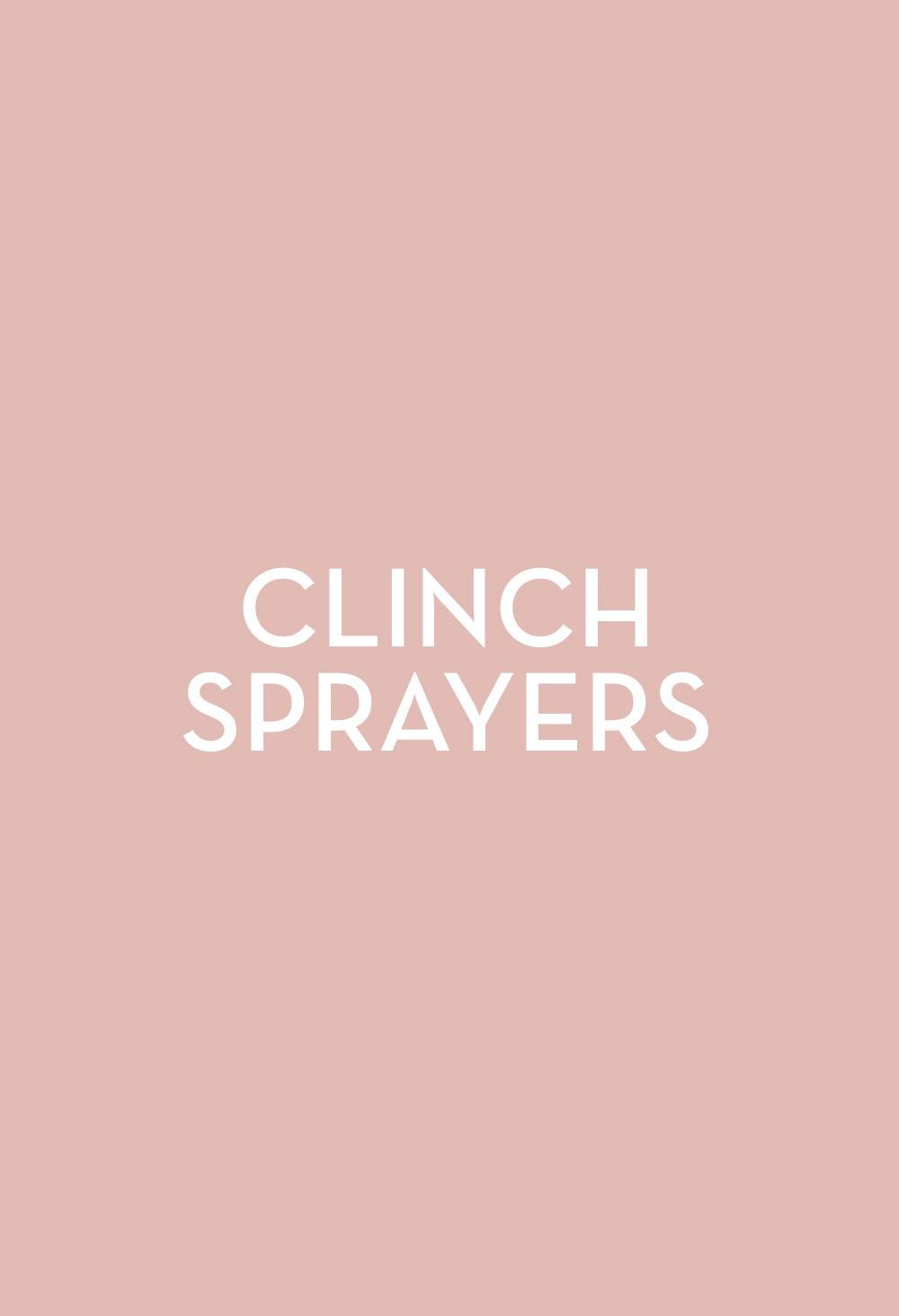 Clinch Sprayers - Fasten