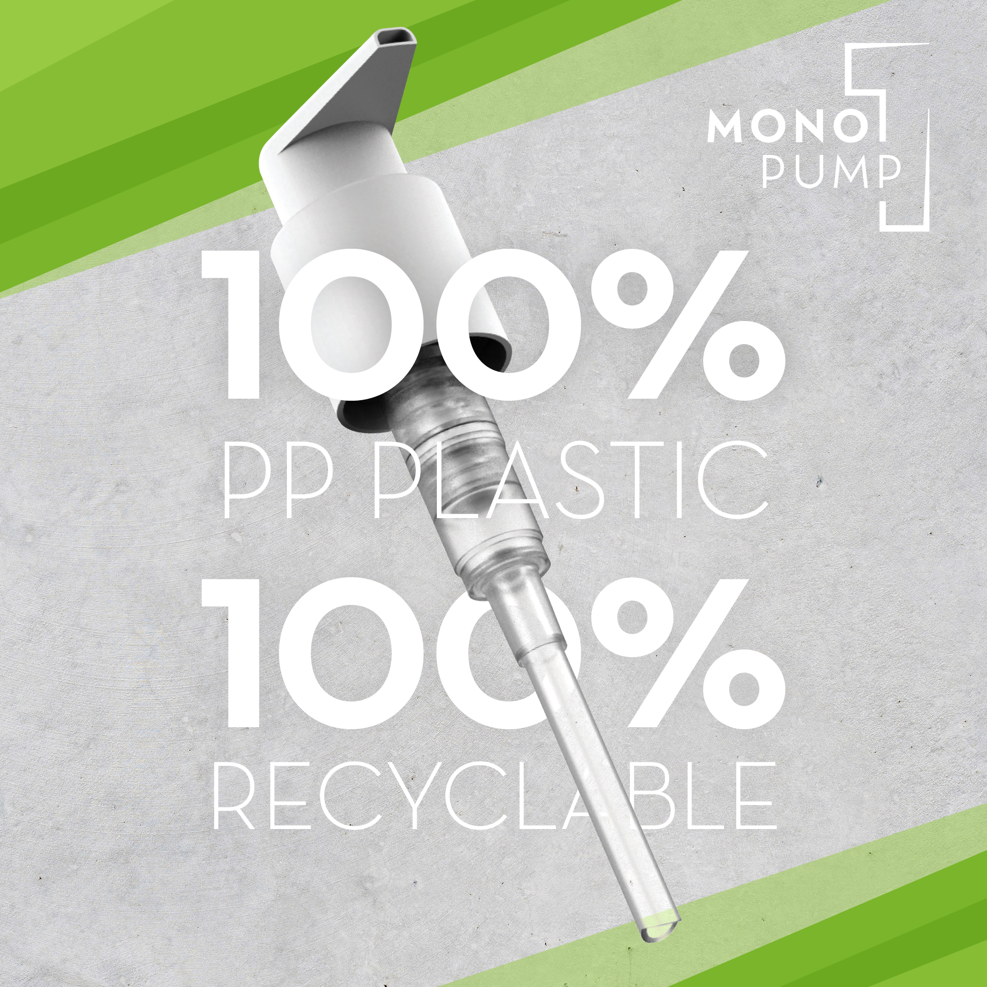 Mono pump sustainable Fasten