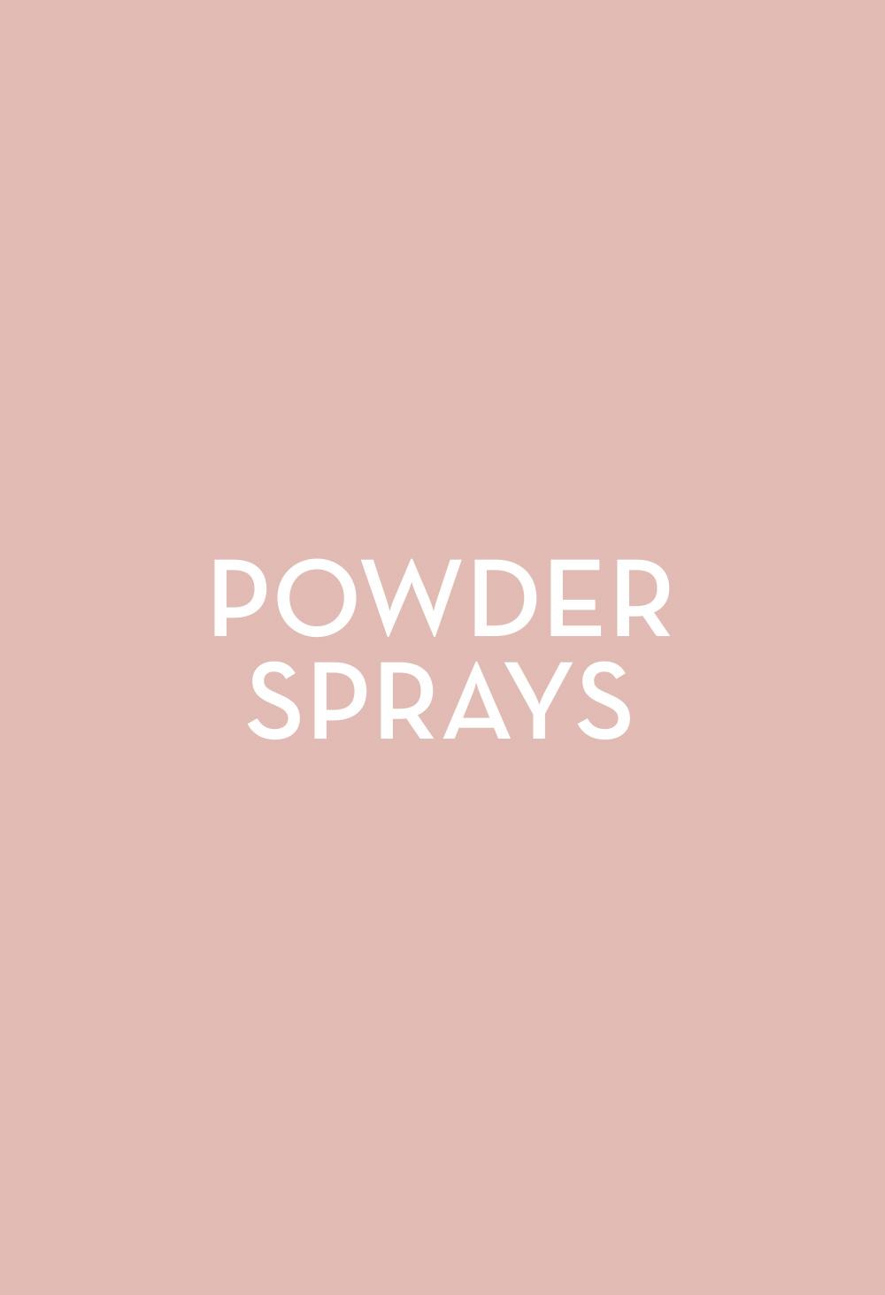 Powder Sprays - Fasten